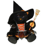 Build-a-bear at Halloween
