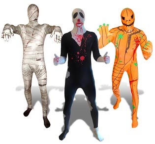 Halloween Morphsuits Firebox.com