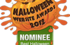 Halloween-errific nominated for Halloween website awards